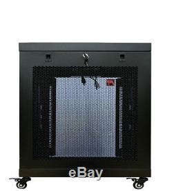 12U Server Rack Cabinet Enclosure Premium Series Sysracks 35 Depth