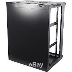 15U 19 Wall Mount IT Network Server Data Cabinet Rack (WxDxH) 60 x 45 x 66.67