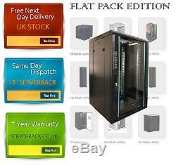 15U SERVER RACK DATA NETWORK19 INCH 600 (W) x450 (D) x 800 (H) flat pack