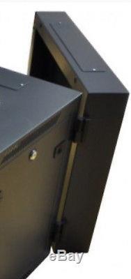 18U 19 550mm deep PreBuilt Server Network Cabinet Data Comms Wall Rack PDU