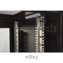 18U SERVER RACK DATA NETWORK CABINET 19 INCH 600 (W) x450 (D) x1000 (H)