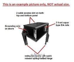 19 Inch 15U 400mm Wall Mount Network Cabinet Rack Glass Door withlock