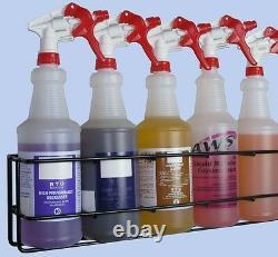 20pcs Case, Wall Rack Hold 5pcs Quart Spray Bottles, Model# QSR-5