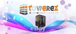 22U SERVER RACK DATA NETWORK19 INCH 600 (W) x 600 (D) x 1200 (H) FLAT PACK