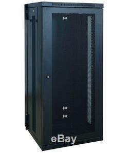 26U 19 Wall Mount Rack Mount Network Server Data Cabinet IT Rackmount