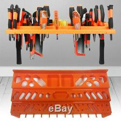 3 Level Wall Mountable Tool Organiser Storage Shelf Holder Garage Plier Rack DIY