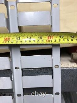 4x 165cm RACKING Linbin PLASTIC STORAGE Parts BIN Picking LOUVRE Panel VERTICAL
