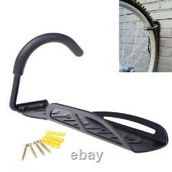 4x Steel Bike Rack Stand Storage Wall Mounted Hook Hanger Bicycle Holder Hanging