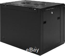 6U 19 Wall Mount IT Network Server Data Cabinet Rack (WxDxH) 600x450x266.7 mm