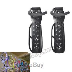 6x Bike & Bicycle Steel Wall Mount Hook Rack Mounted Holder Hanger Stand Storage