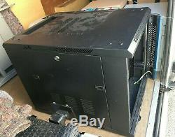 9U RACK/Cabinet With Thermostat, wall mounted, Brand New