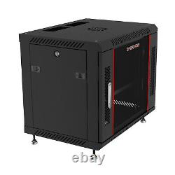 9U Sysracks Wall Mount IT Data Network Server Rack Cabinet Enclosure 18 Depth