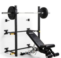 Again Faster Wall Mounted Folding Squat Rack
