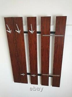 An MID Century Rosewood Coat Rack. Collection Margate, Kent