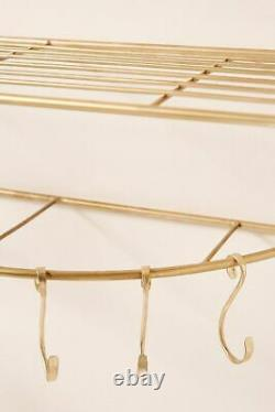 Anthropologie Lily Wall Mounted Hanging Rack-$249.96