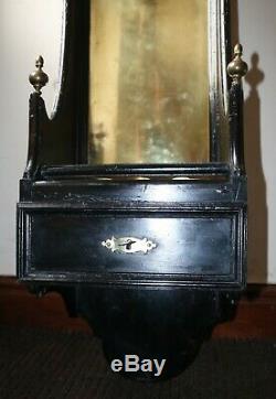 Antique French Gun Rifle Shotgun Rack / Wall Mounted / Locks & Keys