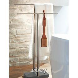 Blomus 68624 MENOTO Stainless Steel Double Towel Rack Floor Stand Bathroom 34