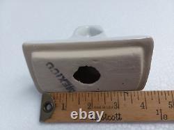 Bright White Ceramic Towel Bar Rod Rack Post Holders Daltile Arctic Color 0190