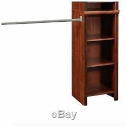 ClosetMaid Closet Organizer System Kit Storage Rack Hanging Shelves Bins Boxes
