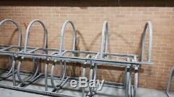 Cycle Bicycle Bike Parking Rack Floor Stand Steel Pipe Storage Wall Mount Holder