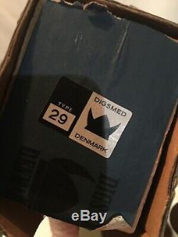 Danish Modern DIGSMED Wall Mount SPICE RACK Box Bottles TEAK New Old Stock 60s