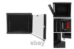 Davislegend 12U 19in Wall Mount server network equipment Data Cabinet Rack