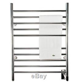 Electric Towel Warmer Bar Rack Stainless Steel Heater Wall Mount Dryer Bathroom