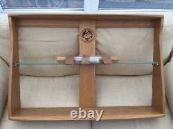 Ercol Wall Mounted Plate/book Rack Blonde Wood