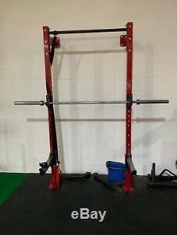 Exigo Wall Mounted Squat Rack Commercial Gym Equipment