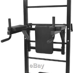Fitness Power Rack Tower Wall Mounted Home GYM Training Workout Multi Station