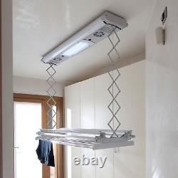 Foxydry Air Wall and Ceiling Clothes Airer Electrical Drying Rack Non Cluttering