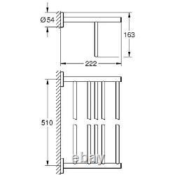 Grohe BauCosmopolitan Multi-Towel Rack 40462001