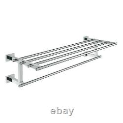Grohe Essentials Wall Mounted Cube Multi Towel Rack