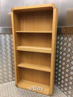 Habitat Radius Oak Kitchen Dining CD/DVD Wall Rack / Bookcase Shelving Unit
