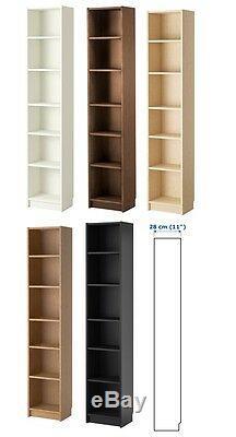 IKEA BILLY Large Bookcase Shelving Unit Storage Shelf Display Rack 40x28x202 cm