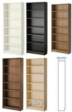 IKEA BILLY Large Bookcase Shelving Unit Storage Shelf Display Rack 80x28x202 cm