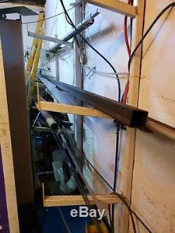 Industrial steel racking, wall mount steel rack, steel shelfing, steel bar rack