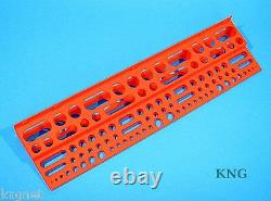 Large 61cm Tool Storage Rack Workshop Garage Wall Holder Tidy 24 Shed Organiser
