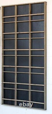 Large Wall Display Plate Rack Chalkboard Backing