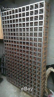 Large Wall Mounted Wine Rack 240 Bottles