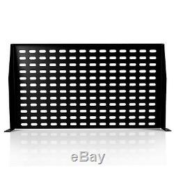 Lot of (8) Pyle PLRSTN14U 1U Server Shelf / Universal Device Rack Mounting Trays
