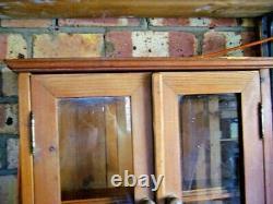 Lucky Penny Pine Plate and Mug Rack Vintage REDUCED