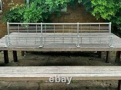 Matching Pair of Long British Rail Train Carriage Racks c1960