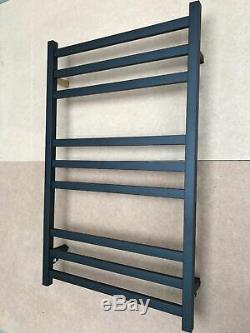 Matte Black Heated 304 stainless steel Towel Rack 9 Bars hard wired AU standard