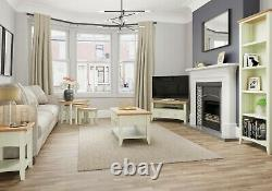 Merlo White Painted Hall Bench Top / Modern Coat Rack / Hallway Hanging Storage