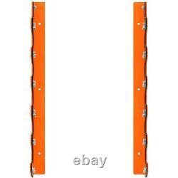 Mirafit 6 Barbell Wall Mount Rack Gym Weight Lifting Bar Storage Holder/Hanger