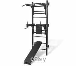 Muti-Gym Exercise Equipment Wall-Mount Power Rack Home Muscle Fitness Training