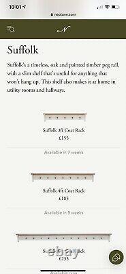 Neptune Suffolk 4ft Coat Rack
