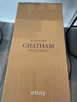New Restoration Hardware Chatham Train Rack Polished Chrome Open Box