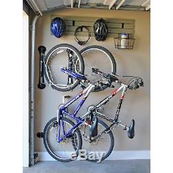 New Steadyrack Wall Mounted Bike Rack Black Collapsible Easy To Install Bicycle